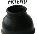 НАСАДКА ДЛЯ ПОМПЫ цвет чёрный, размер M  30 мм арт. SF-70146
