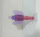ВИБРАТОР С НАСАДКОЙ ROCKET TICKLERS DILDO PINK Артикул: 23033-55