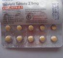 Vidalista 2,5 mg 1 таблетка